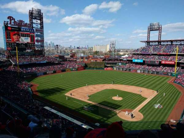 Citizens Bank Park, section: 322, row: 6, seat: 13