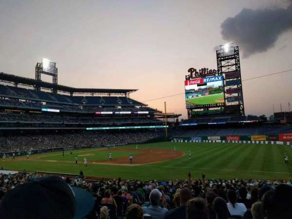 Citizens Bank Park, section: 112, row: 31, seat: 17