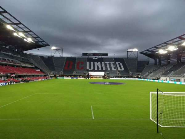 Audi Field, section: 138, row: 3, seat: 8