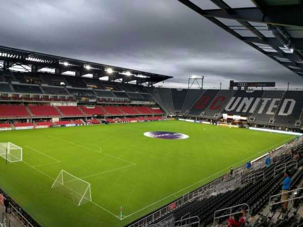 Audi Field, section: 132, row: 21, seat: 17