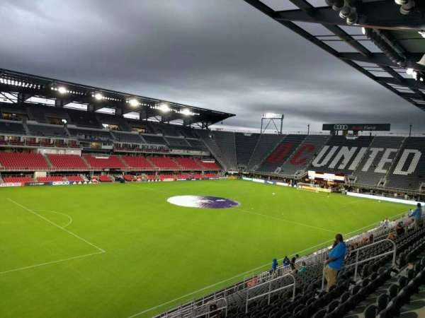 Audi Field, section: 131, row: 19, seat: 16