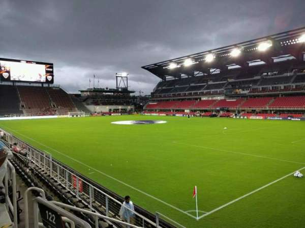 Audi Field, section: 122, row: 5, seat: 5