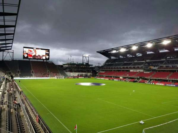 Audi Field, section: 121, row: 9, seat: 5