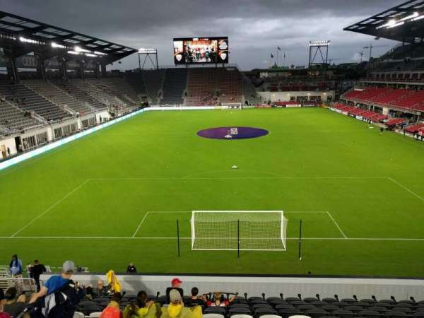 Audi Field, section: 117, row: 20, seat: 17