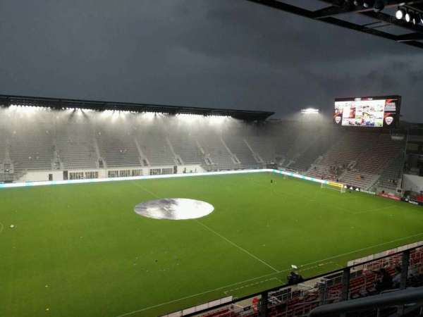 Audi Field, section: 208, row: 3, seat: 20