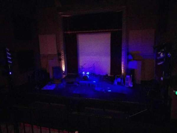 The Mauch Chunk Opera House, section: Balc right, row: b, seat: 17