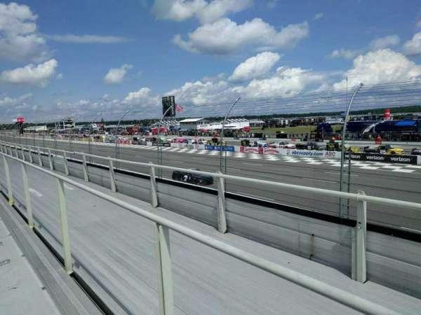 Pocono Raceway, section: 102, row: 2, seat: 23