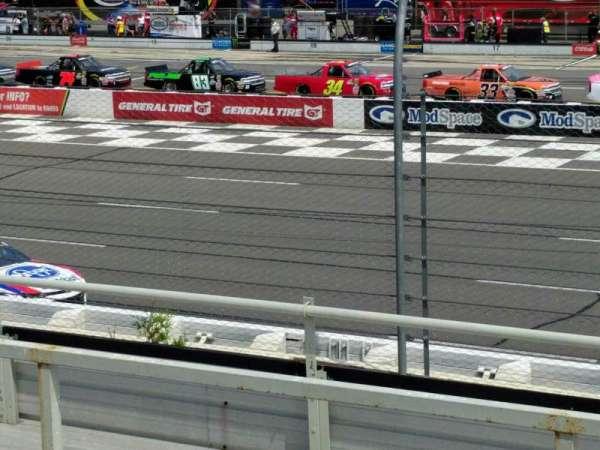 Pocono Raceway, section: 110, row: 7, seat: 21