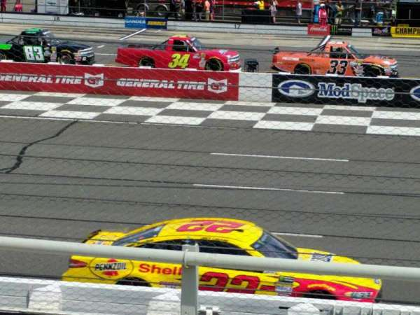 Pocono Raceway, section: 111, row: 5, seat: 21