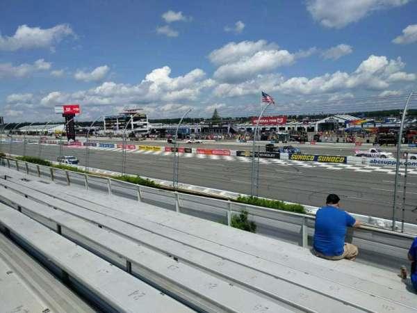 Pocono Raceway, section: 113, row: 9, seat: 21