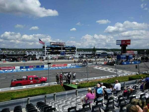 Pocono Raceway, section: 124, row: 14, seat: 11
