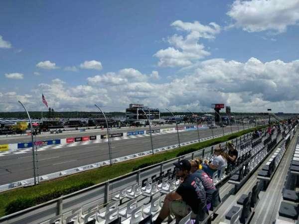 Pocono Raceway, section: 130, row: 10, seat: 8