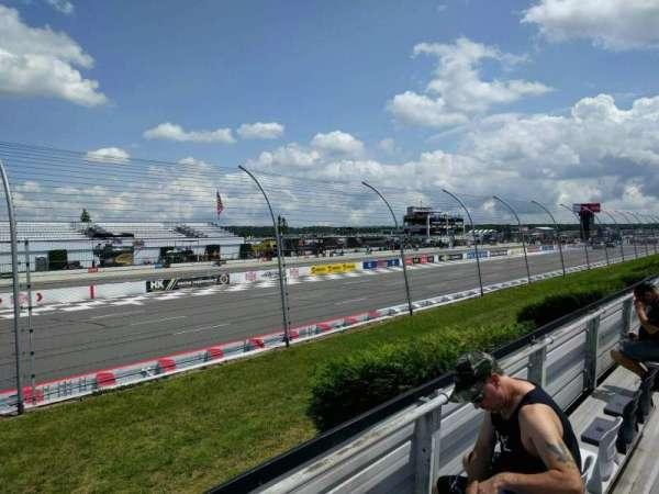 Pocono Raceway, section: 132, row: 3, seat: 8