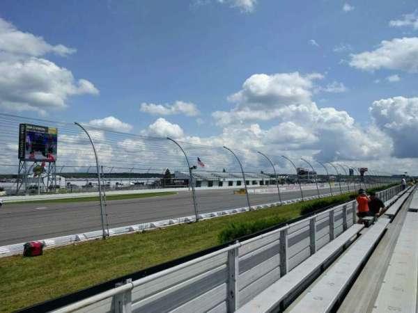 Pocono Raceway, section: 140, row: 4, seat: 22