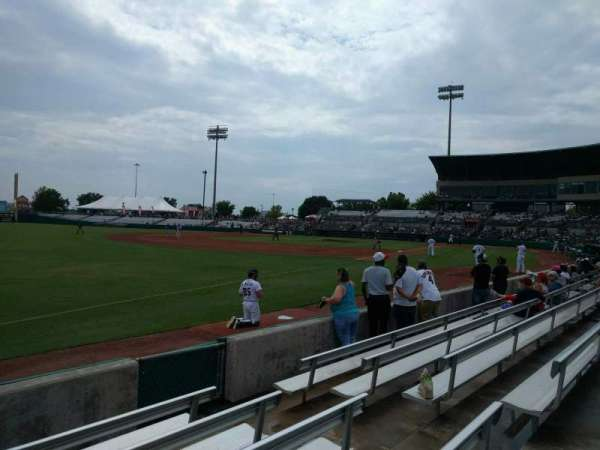 Nelson W. Wolff Municipal Stadium, section: 119, row: f, seat: 6