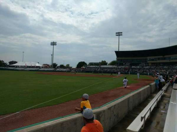Nelson W. Wolff Municipal Stadium, section: 121, row: d, seat: 6