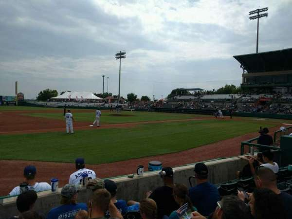 Nelson W. Wolff Municipal Stadium, section: 115, row: d, seat: 15