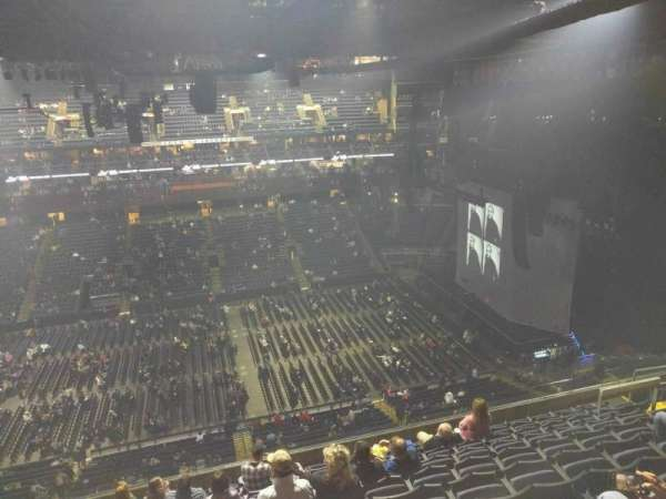 Nationwide Arena, section: 203, row: k, seat: 15