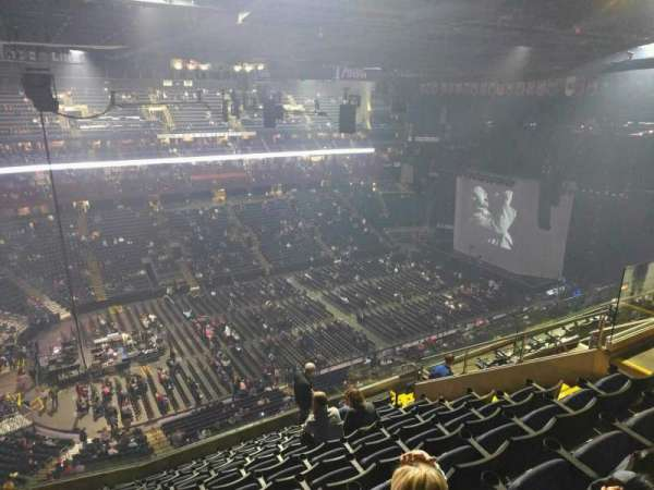 Nationwide Arena, section: 205, row: l, seat: 12