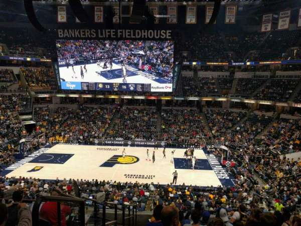 Bankers Life Fieldhouse, section: 116, row: 9, seat: 17