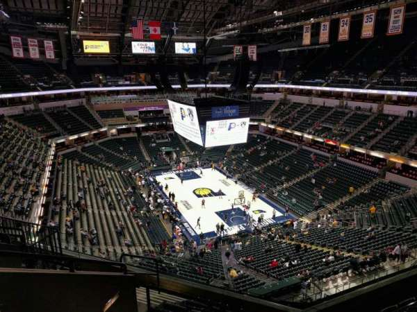Bankers Life Fieldhouse, section: 203, row: 7, seat: 13