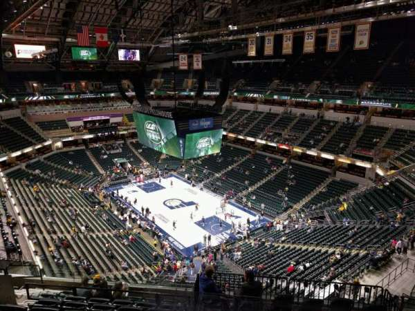 Bankers Life Fieldhouse, section: 204, row: 10, seat: 10