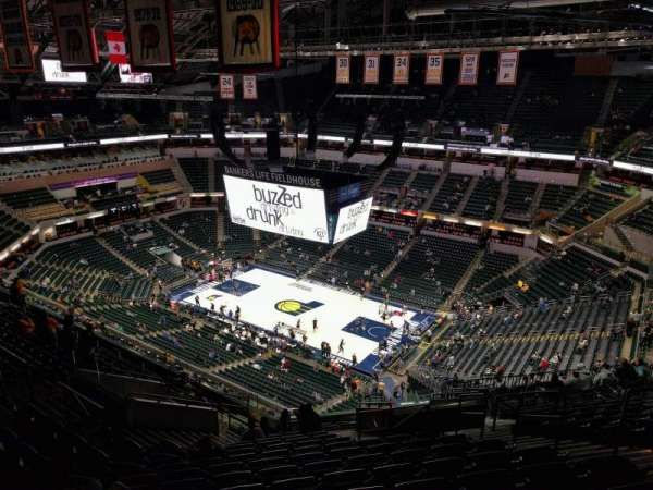 Bankers Life Fieldhouse, section: 206, row: 16, seat: 7