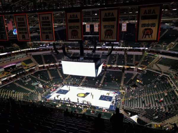 Bankers Life Fieldhouse, section: 207, row: 20, seat: 10