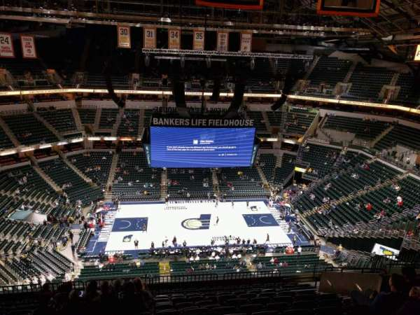 Bankers Life Fieldhouse, section: 209, row: 13, seat: 11