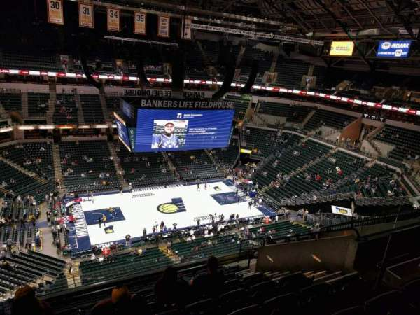 Bankers Life Fieldhouse, section: 210, row: 10, seat: 10