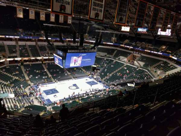 Bankers Life Fieldhouse, section: 211, row: 15, seat: 9