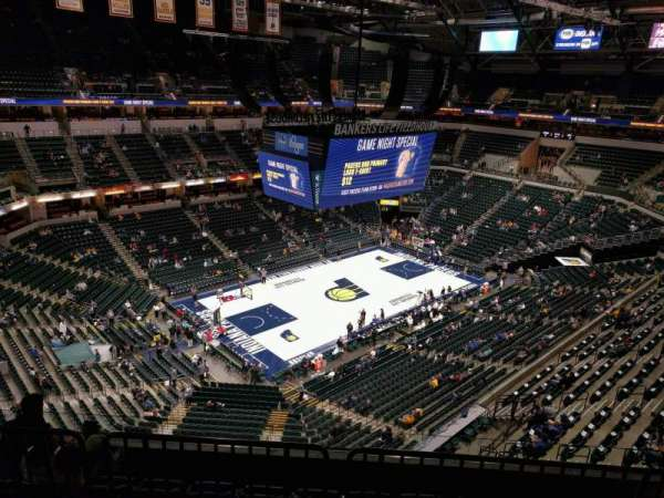 Bankers Life Fieldhouse, section: 212, row: 6, seat: 8