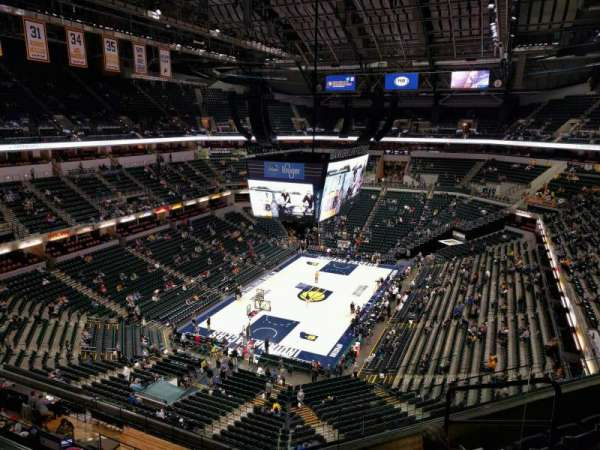 Bankers Life Fieldhouse, section: 214, row: 5, seat: 5