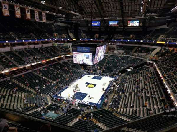 Bankers Life Fieldhouse, section: 215, row: 5, seat: 10
