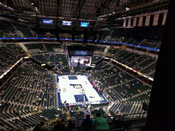 Bankers Life Fieldhouse, section: 217, row: 9, seat: 19