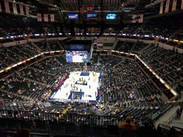 Bankers Life Fieldhouse, section: 232, row: 8, seat: 7