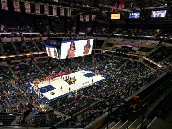 Bankers Life Fieldhouse, section: 227, row: 5, seat: 7