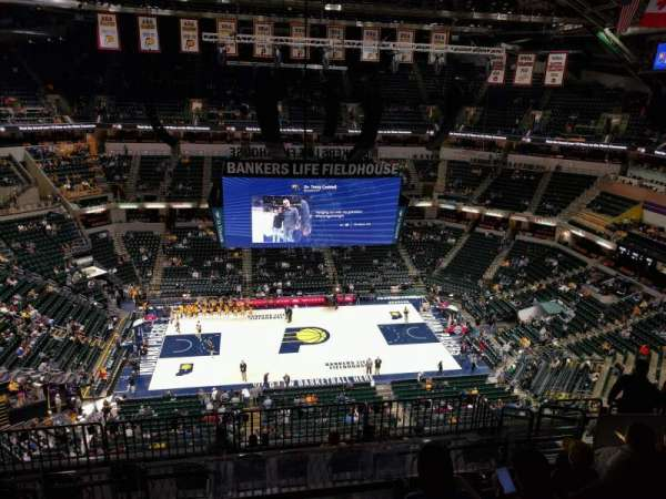 Bankers Life Fieldhouse, section: 225, row: 10, seat: 11