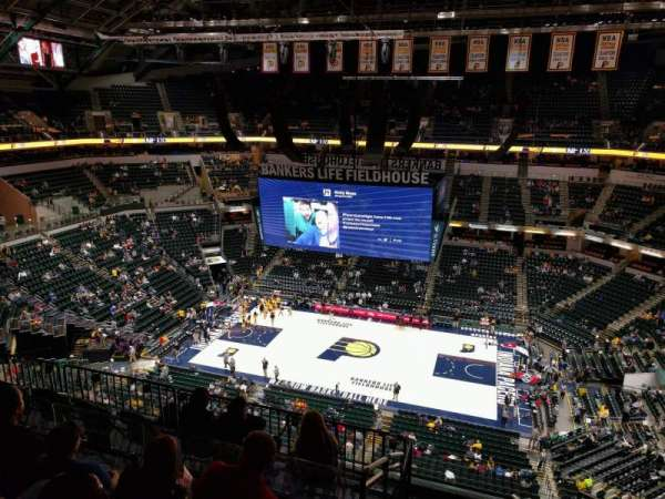 Bankers Life Fieldhouse, section: 224, row: 8, seat: 2