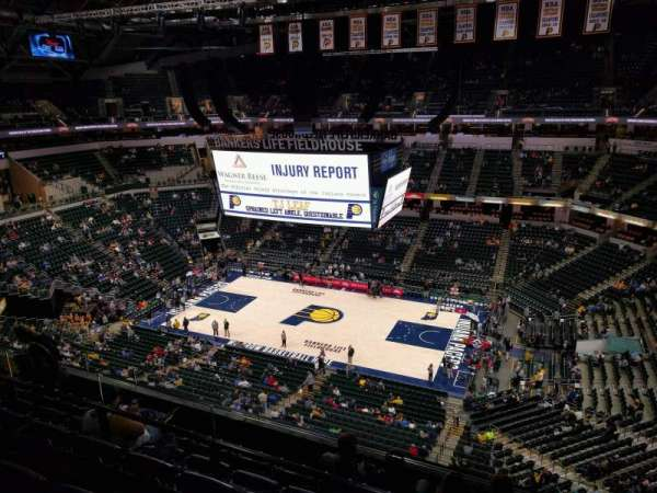 Bankers Life Fieldhouse, section: 223, row: 6, seat: 13