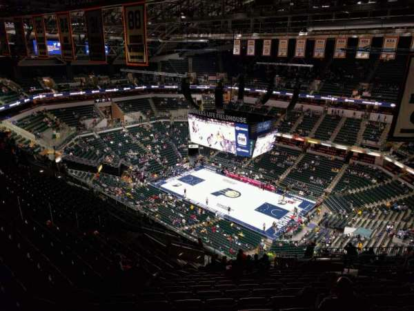 Bankers Life Fieldhouse, section: 222, row: 19, seat: 9
