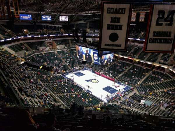 Bankers Life Fieldhouse, section: 221, row: 16, seat: 10