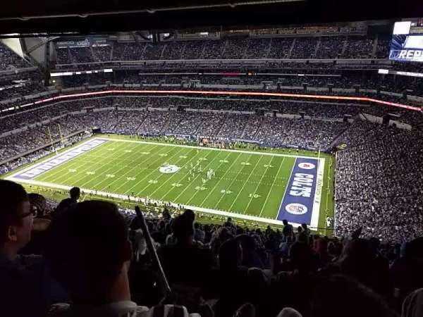 Lucas Oil Stadium, section: 609, row: 26, seat: 10