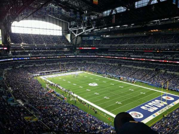 Lucas Oil Stadium, section: 506, row: 2, seat: 21
