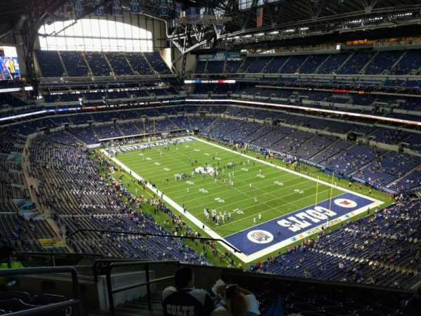 Lucas Oil Stadium, section: 604, row: 9, seat: 11