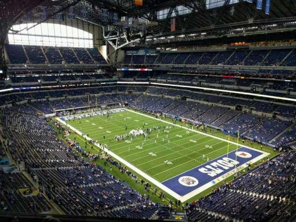 Lucas Oil Stadium, section: 605, row: 5, seat: 11