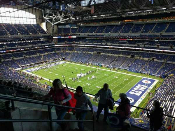 Lucas Oil Stadium, section: 607, row: 6, seat: 9