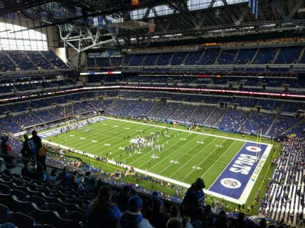 Lucas Oil Stadium, section: 608, row: 9, seat: 10