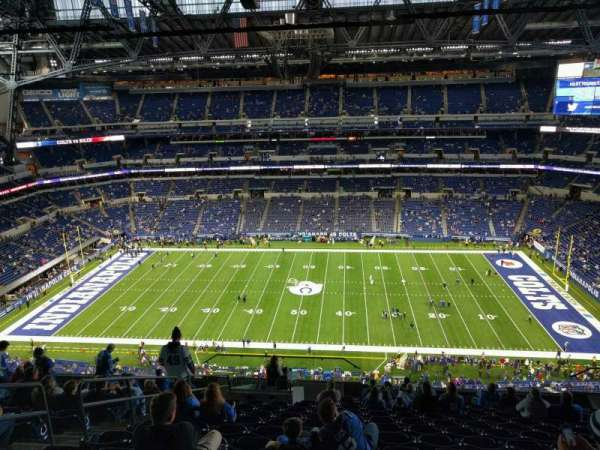 Lucas Oil Stadium, section: 612, row: 14, seat: 19
