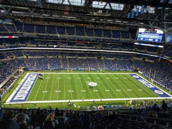 Lucas Oil Stadium, section: 615, row: 18, seat: 9